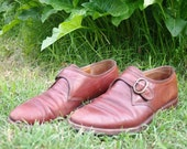 Brown Auburn Shoes Leather