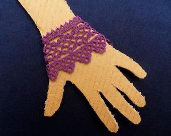 Handmade Lace Cuff