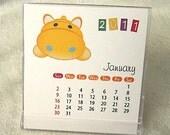 2011 Mini Calendar, with calendar case