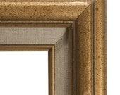 Vintage 8x10 Gold Wood Frame