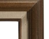 Vintage 8x10 Brown Wood Frame