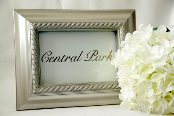 12 - Custom Wedding Reception Table Name Cards - CUSTOM LISTING for watupe1