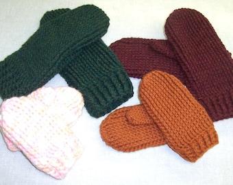 Crochet Mittens that look like they were knit. Mitten PATTERN