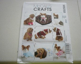 Pattern Dog Costumes Clothes SM-XLG Dogs Uncut McCalls 6259