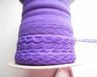 Purple 3-8 inche Lingerie Doll Lace 5 yds NEW 1597