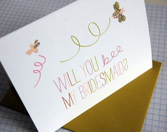 Will You Be My Bridesmaid - Card