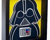 Star Wars Art Darth Vader Art Star Wars Poster 3D Pop Artwork Jedi