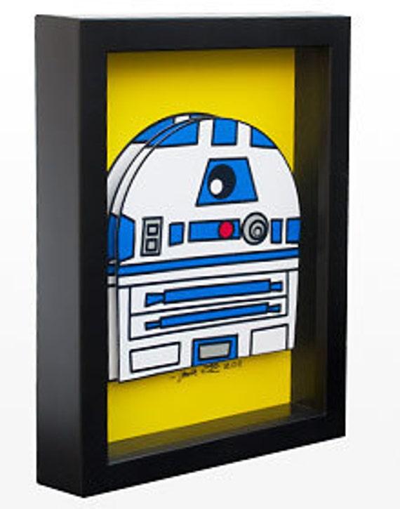 Star Wars Art R2-D2 R2D2 Return of the Jedi Empire Strikes Back Droid Robot
