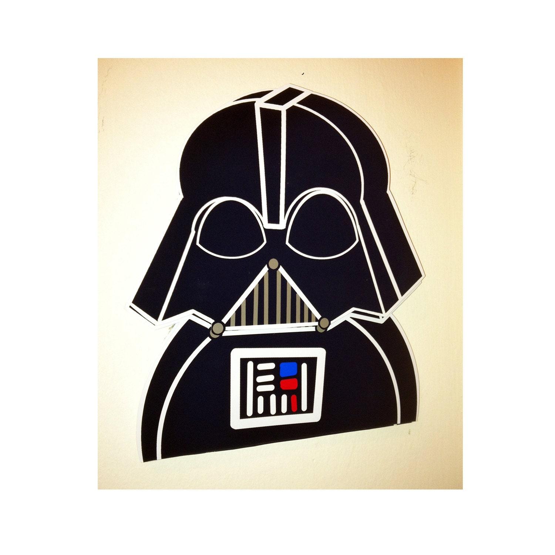 Star Wars Wall Decor Darth Vader Art 3d Pop Papercut Print