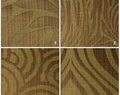Custom Drapes - Modern / Animal Print in Dark Beige 44X84in Curtain Panel
