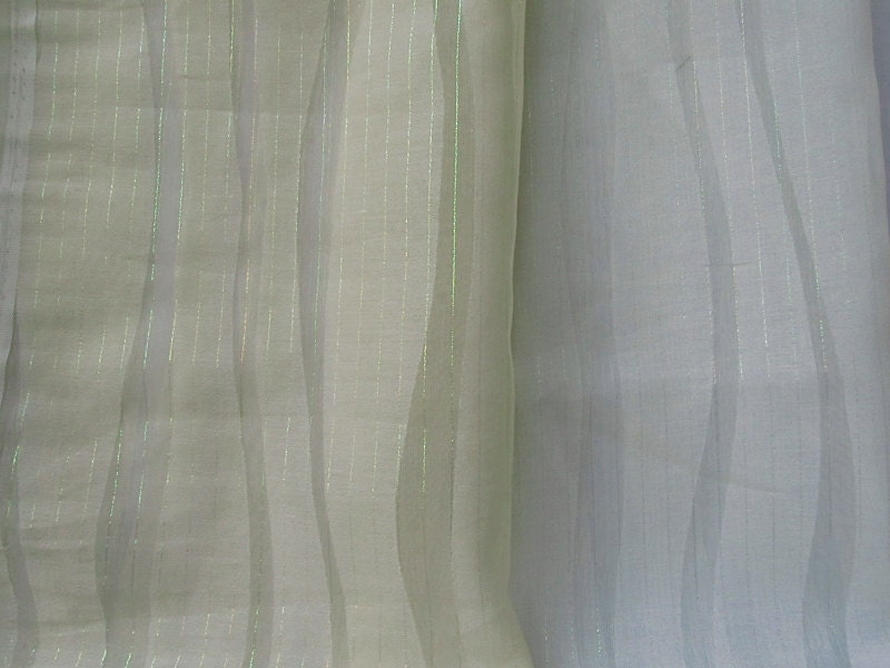 Textured sheer curtains in cream white drapes by lushlivings
