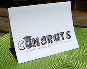 Congrats Grad - Mastering Copy / Paste - Graduation Card