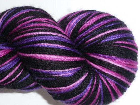 Cheshire Cat... Canon Hand Dyes Charles Self Striping Gradient Stripe Superwash Merino Sock Yarn