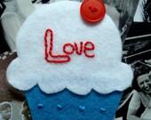 Cupcake Love Magnet handmade by brandy-son Zen master flash