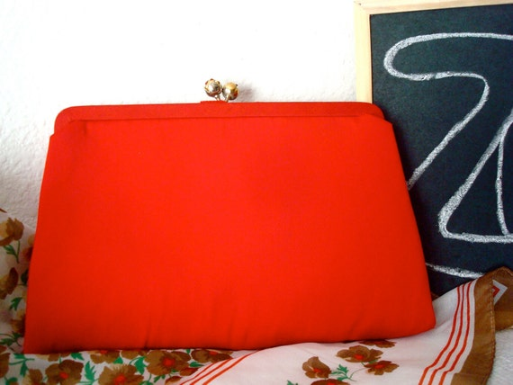 Red Vintage Evening Bag by After Five