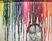 Melted Crayon Art: Making the Best out of a Rainy Day