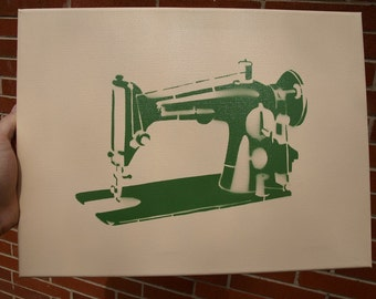 Sewing Machine Stencil