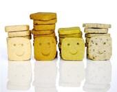 Assorted Smiley Icebox Cookies in 4 Flavors