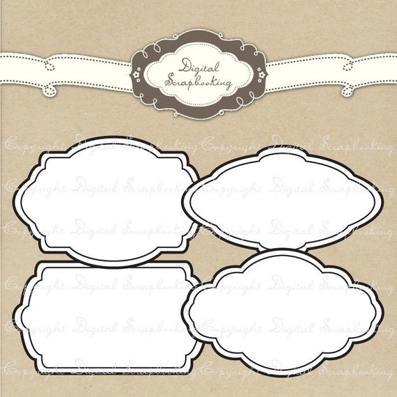 label frame template - photo #32