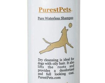Pure Waterless Shampoo, Dry Shampoo, Dogs and Cats, 6-ounce