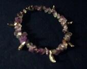 Crescent Moon Stone Bracelet