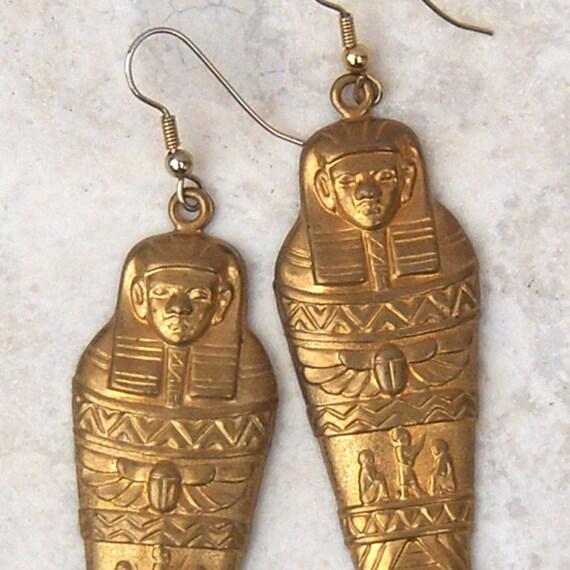 Vintage Earrings  Egyptian