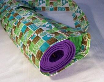 Yoga Mat Carrier - Go Green