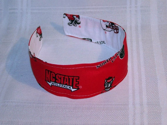 North Carolina State University Wolfpack Reversible Headband