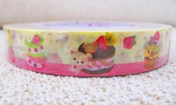Rilakkuma: Desserts - Deco Sticky Tape