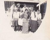 Group of Ladies - Vintage Photograph, Vernacular, Ephemera