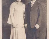 Lovely Couple - Vintage Photograph, Vernacular, Ephemera  (H)