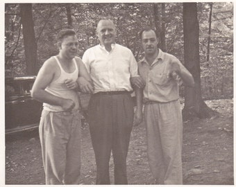 Three Guys - Vintage Photograph (L)