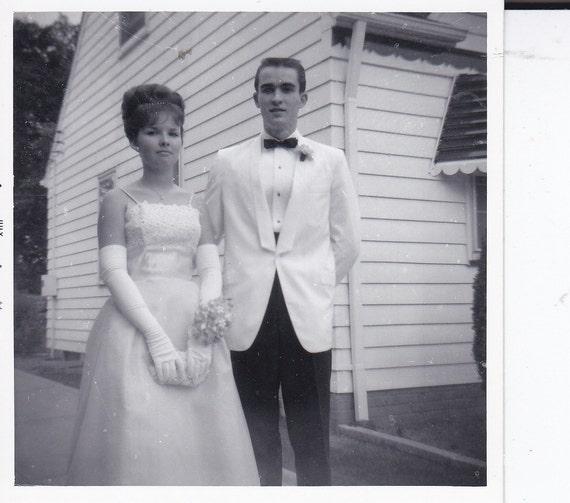 Prom Couple Vintage Photograph L By Photoslongforgotten On