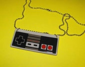 Old School Game Controller Necklace