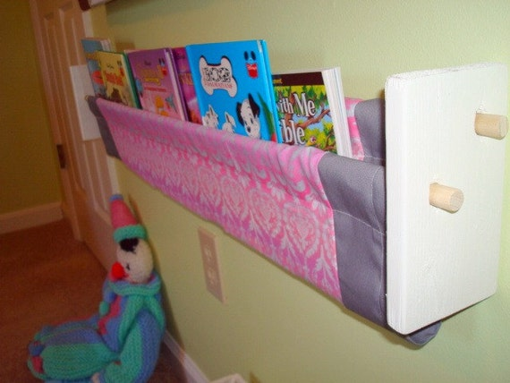 Book Sling - Pink, Purple and Grey - Check out my shop for more options