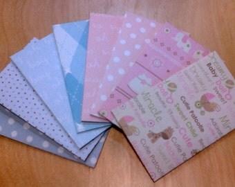 Baby - small envelope 8pc set