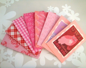 Valentines -Small Envelope 8pc Set
