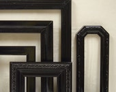 Picture Frames Black Frame Set Mirror Sconce Home Decor Ornate Gallery Frames Wall Art Collection B30