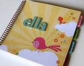 Baby Memory Book Girl/Baby Album Photo Book and Journal - ELLA Design (LAST ONE)