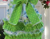 Too Chute's Bouquet Sun Suit Romper -- Available in sizes NB 3m 6m 12m 18m 2t