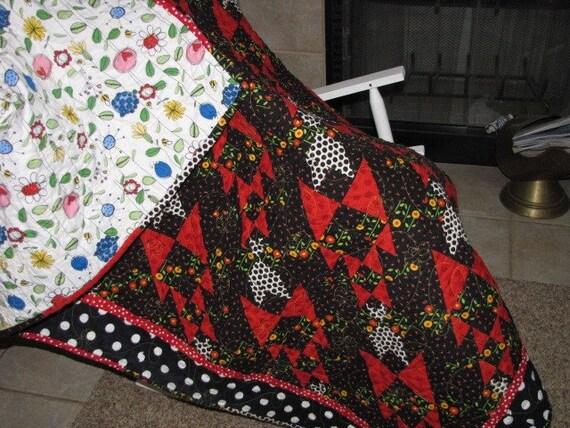 SALE   Mary Engelbreit Attitude Girls Line Oversized Lap Quilt SALE