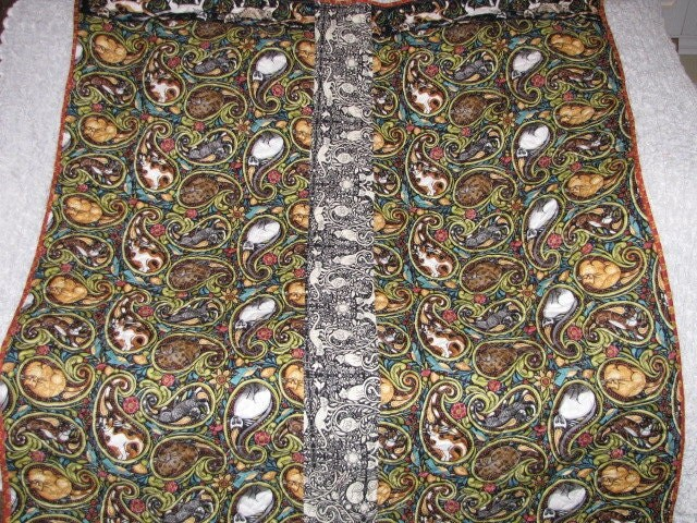 Catkin Folklorica Collection Quilt Lap Wallhanging