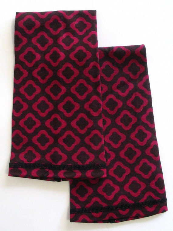 ARM WARMERS for Cycling-Marrakesh Trellis Pattern