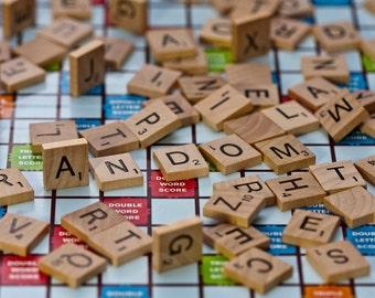8x12 Photo Print: Scrabbled