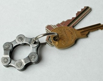 Bicycle Chain Key Ring