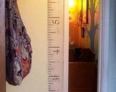CUSTOM ORDER for FINISHED Antique-Style Measuring Tape Height / Growth Chart