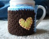 Brown Mug Coaster Cozy