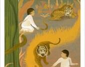 Sophia's Jungle, Small Print