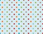 Fox Trails Blue Dots by Doohikey Designs for Riley Blake, 1/2 yard