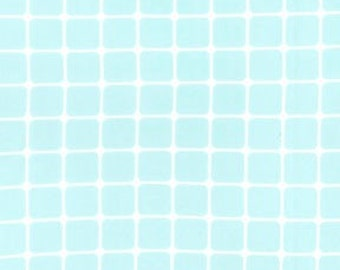 Sanctuary Glass Tiles Aqua by Patty Young for Michael Miller, 1 yard